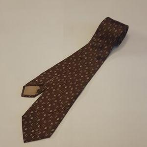 Men's Gucci 100% silk pattern to tie